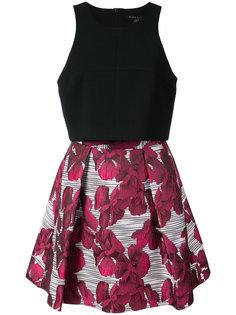 платье с цветочным рисунком на юбке Black Halo