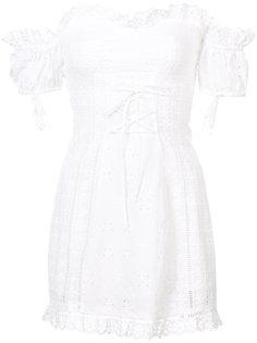 платье с вышивкой бродери англез For Love And Lemons