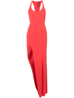 вечернее платье с разрезом сбоку Jay Godfrey