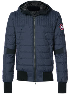 дутая куртка-бомбер Canada Goose