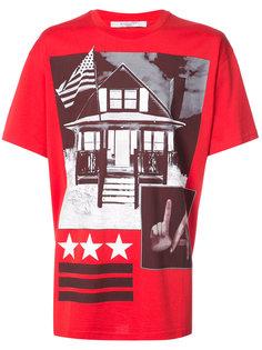 футболка с принтом LA Givenchy