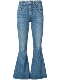 расклешенные джинсы Brock Collection