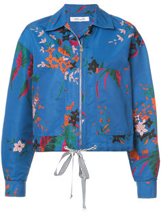 укороченная куртка с цветочным рисунком Dvf Diane Von Furstenberg