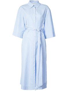 платье-рубашка с завязками на талии Dvf Diane Von Furstenberg