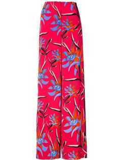широкие брюки с цветочным рисунком Dvf Diane Von Furstenberg