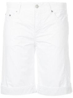 короткие шорты в полоску  Mm6 Maison Margiela