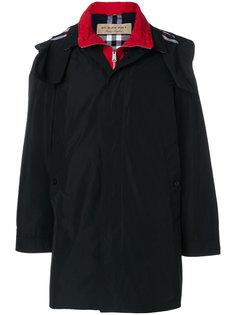пальто с капюшоном Burberry