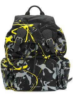рюкзак с принтом краски Burberry