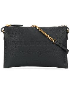 сумка на плечо с тиснением Burberry
