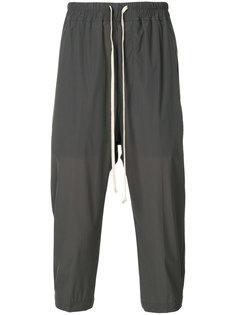 укороченные брюки со шнурком Astaires Rick Owens