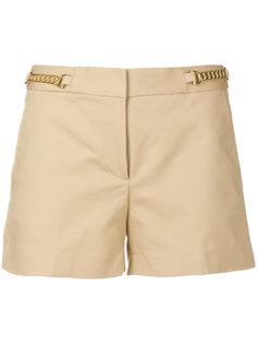 шорты с цепочной отделкой Michael Michael Kors