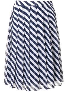 плиссированная юбка в полоску Michael Michael Kors