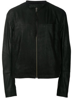 кожаная куртка на молнии Haider Ackermann
