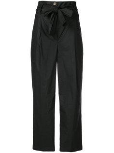 укороченные брюки с высокой талией Semicouture