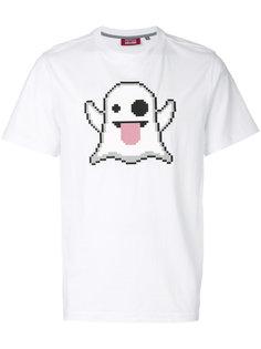 футболка с принтом приведения  Mostly Heard Rarely Seen 8-Bit