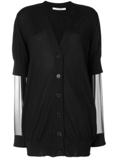 кардиган с прозрачными рукавами Givenchy