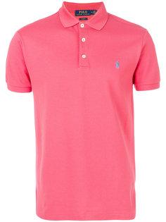 классическая футболка-поло с логотипом  Polo Ralph Lauren