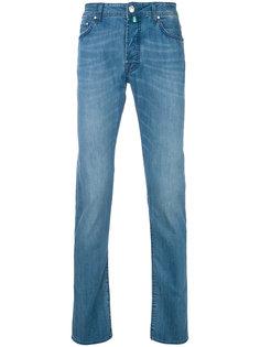 прямые джинсы с подвернутым низом Jacob Cohen