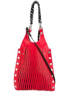 сумка на плечо с люверсами Sonia Rykiel