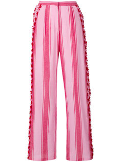 tasselled striped trousers Dodo Bar Or