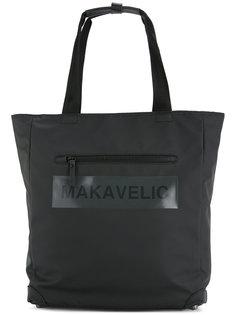 сумка-тоут с логотипом Ludus Makavelic