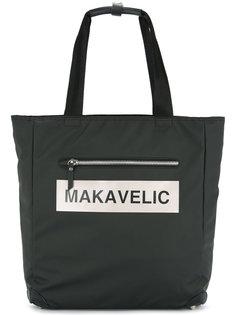 сумка-тоут с логотипом Ludos Makavelic