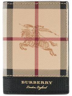 heymarket check wallet Burberry