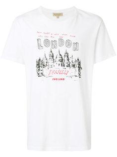 футболка London с принтом Burberry