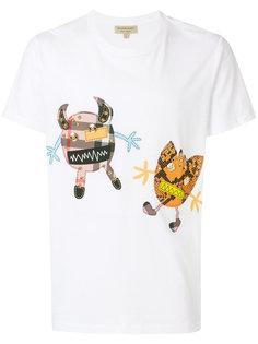 футболка с принтом Burberry