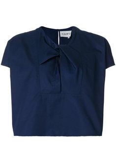 блузка с завязкой на вороте  Carven