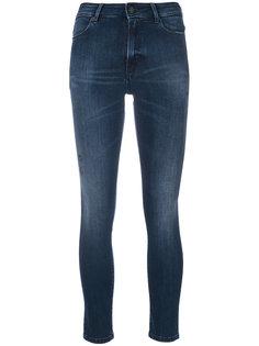 укороченные джинсы скинни  Dondup