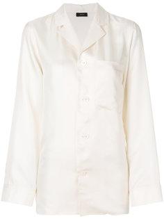 блузка с отрытым воротом Joseph