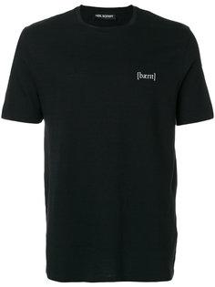 футболка с логотипом Neil Barrett