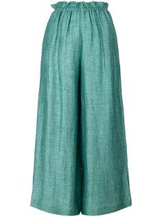 укороченные широкие брюки Masscob