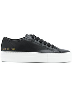 кеды на шнуровке Tournament Common Projects
