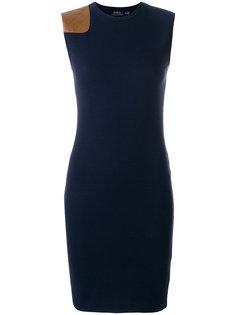 платье в рубчик Polo Ralph Lauren