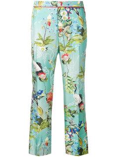 укороченные брюки с тропическим принтом  F.R.S For Restless Sleepers