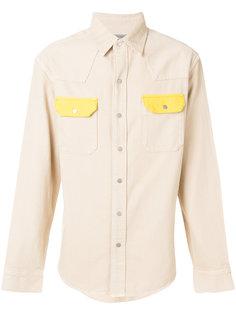 рубашка с контрастным карманом  Calvin Klein Jeans
