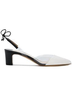 туфли с акриловыми деталями Francesco Russo