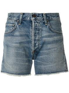 джинсовые шорты Alyx с рваными деталями Citizens Of Humanity
