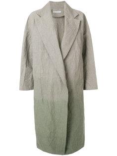 пальто с градиентным эффектом Dusan