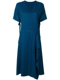 classic wrap dress Cédric Charlier