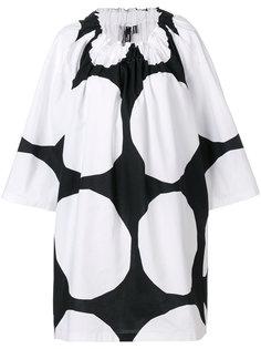 платье в крупный горох Junya Watanabe Comme Des Garçons