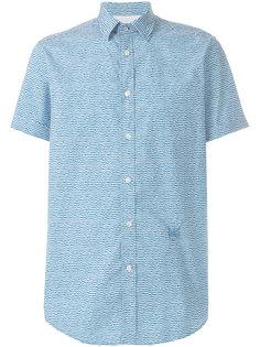 рубашка с принтом и короткими рукавами  Diesel