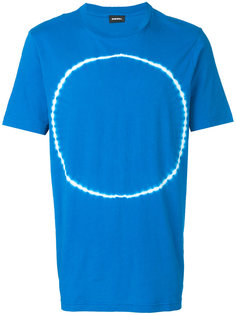 футболка с принтом тай-дай Diesel