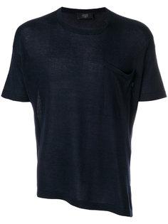асимметричная футболка Maison Flaneur