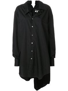 короткое платье-рубашка Junya Watanabe Comme Des Garçons