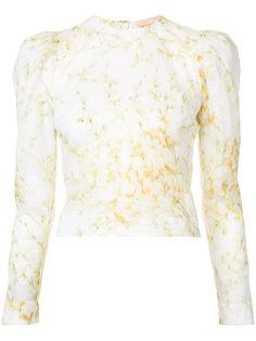 блузка с цветочным рисунком Brock Collection