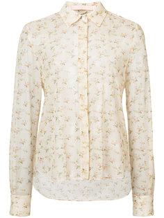 полупрозрачная рубашка с цветочным рисунком Brock Collection