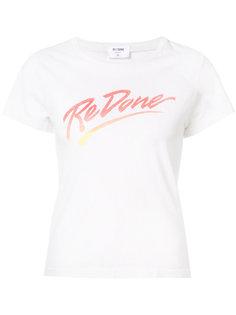 футболка с принтом-логотипом Re/Done